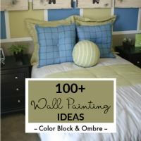 Wall Painting Ideas, Color Block, Ombre, Color Wash Thumbnail