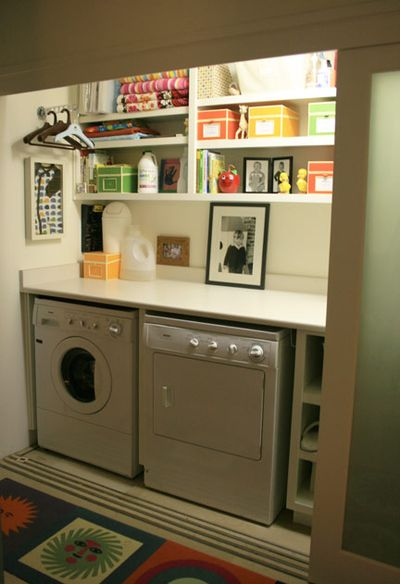 Laundry Room Cabinet Makeover