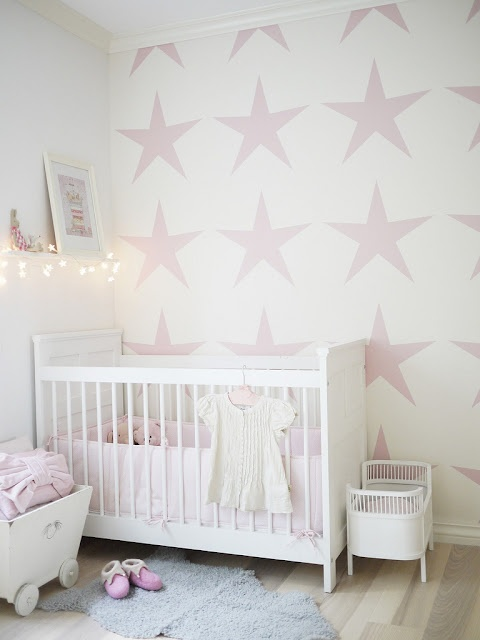 creative painting ideas star stencil wall