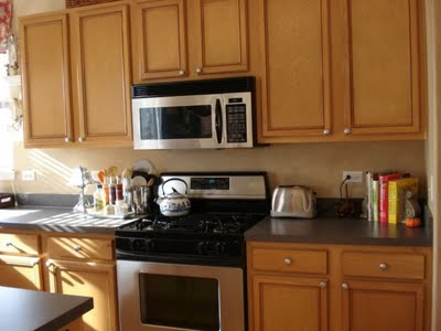 glazed oak kitchen cabinets, Transforming Home