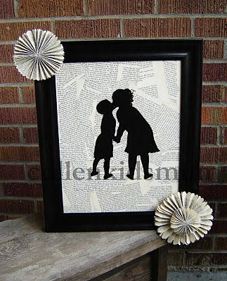 silhouette art of your kids