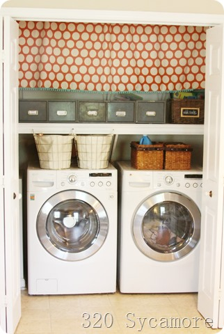 small laundry closet makeover, 320 Sycamore