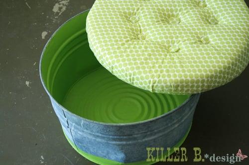 Top ten diy ottomans remodelaholic diy ottomans upholstered bucket storage ottoman killer b designs solutioingenieria Images