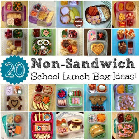 20 non-sandwich school lunch ideas, Keeley McGuire