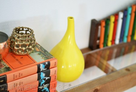Vintage Revivals, floating industrial shelves