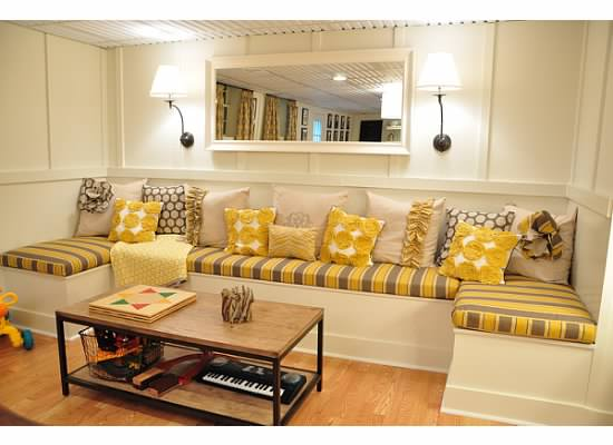 basement remodel with board and batten wainscoting, Dixie Delights on Remodelaholic