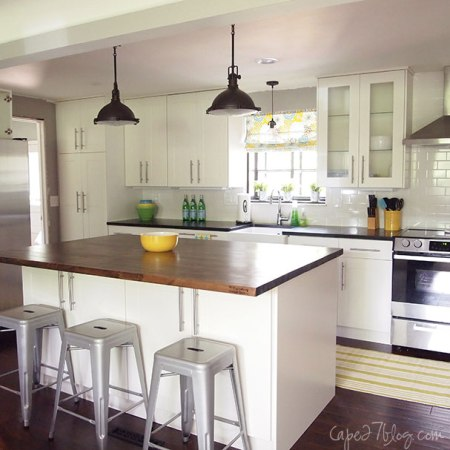 best kitchen remodel ideas -- bright ranch kitchen makeover, Cape 27 on Remodelaholic