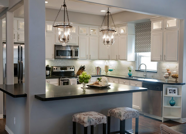 Best Kitchen Remodel Ideas    Complete Kitchen Transformation With White  Cabinets, A Well Dressed