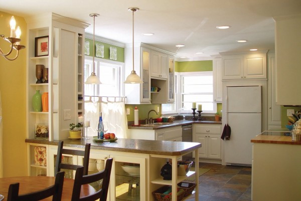 Best Kitchen Remodel Ideas    Gutted Kitchen Renovation With New Lighting,  Balancing Home On