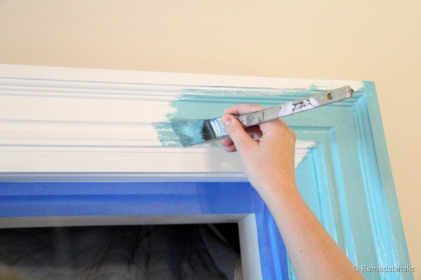 how to build a large chunky frame for a chalkboard-47
