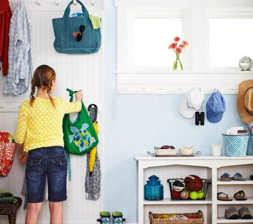 Top Ten Organized Mudrooms and Link Party