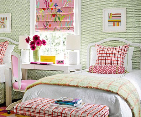 pattern mixing for kids rooms, Better Homes and Gardens