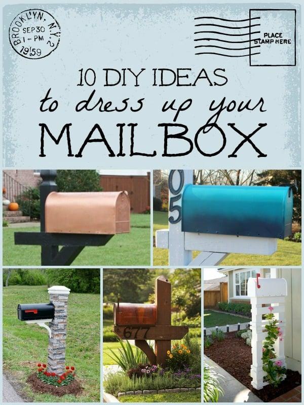 Diy mailbox ideas remodelaholic 10 diy mailbox ideas for a happy mailbox remodelaholic diy mailbox solutioingenieria Images