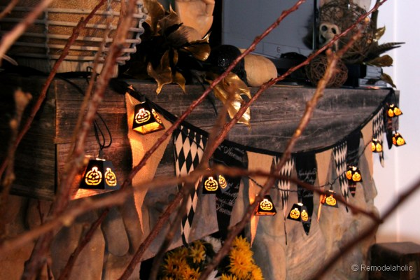 Fall-mantel-and halloween-mantel-decor-ideas-8