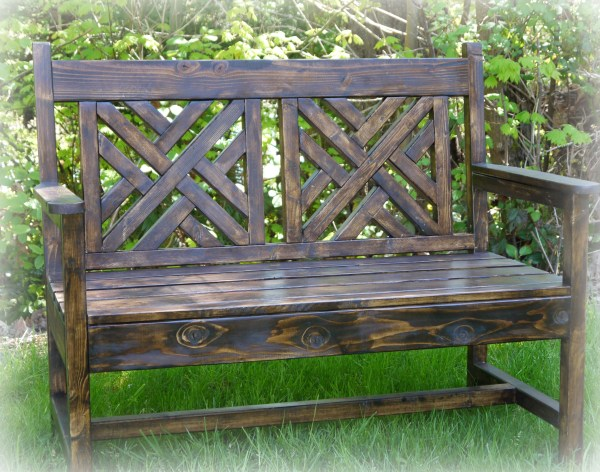 Red Hen Home build a woven bench 5