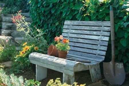 build a garden bench, This Old House