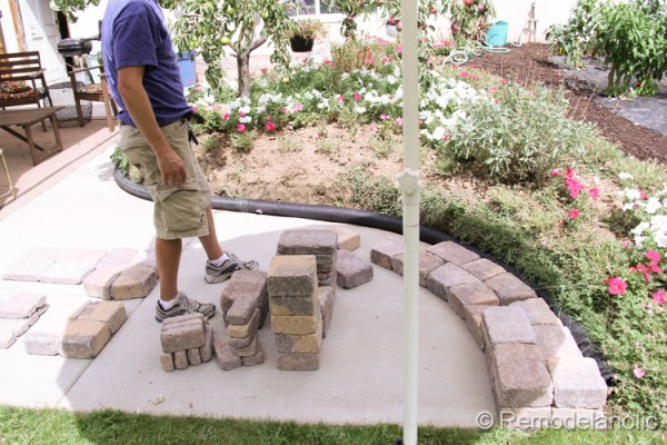 diy seat wall and fire pit kit-5