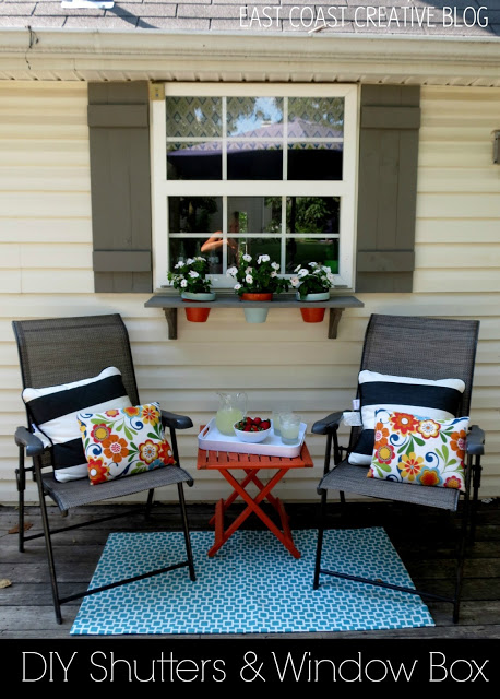 Remodelaholic 25 Inspiring Outdoor Window Treatments - Window-exterior-design