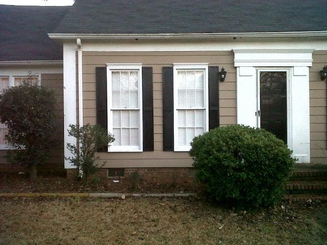 Bon Exterior Shutters   Tutorial For Tall Thin Window Shutters, Hello Newmans