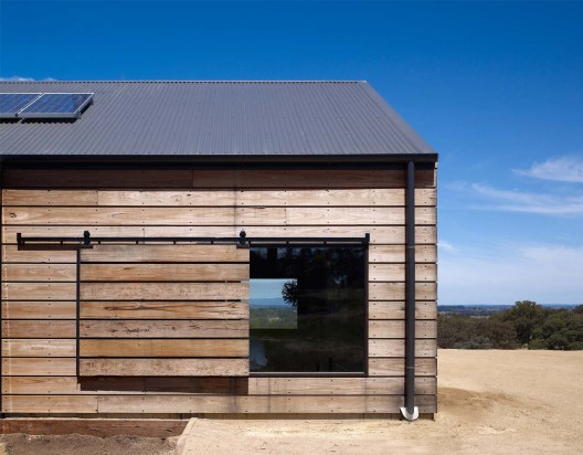 exterior window treatment - barn door shutter, Wolveridge Architects on ArchDaily