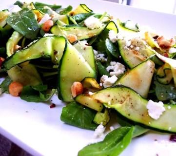 Zucchini Ribbon Salad Recipe, Proud Italian Cook