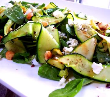 Zucchini Ribbon Salad Recipe, Proud Italian Cook