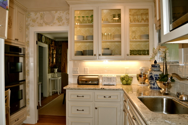 Small Kitchen Remodel, Featuring Slate Tile Backsplash ... on Small Kitchen Remodel  id=71558