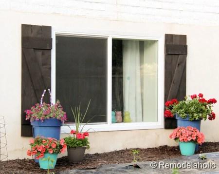 diy wood shutters tutorial