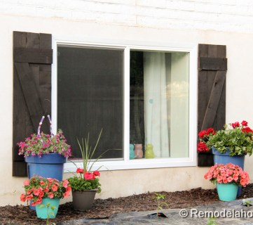 diy wood shutters tutorial