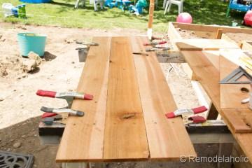 wood DIY shutters