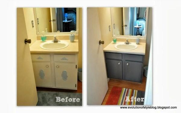 10-19 bathroom on a budget, Evolution of Style via Remodelaholic