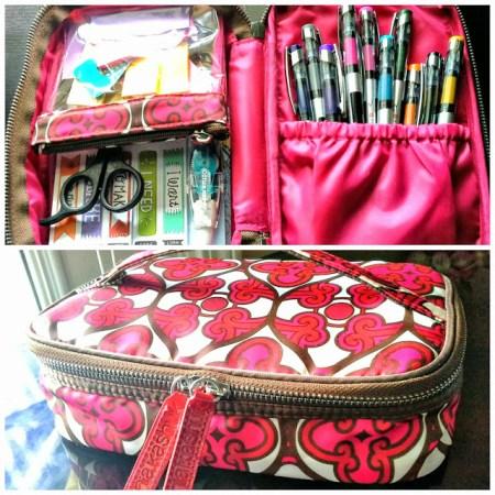 10-4 repurposed makeup travel cases, Simply In Control