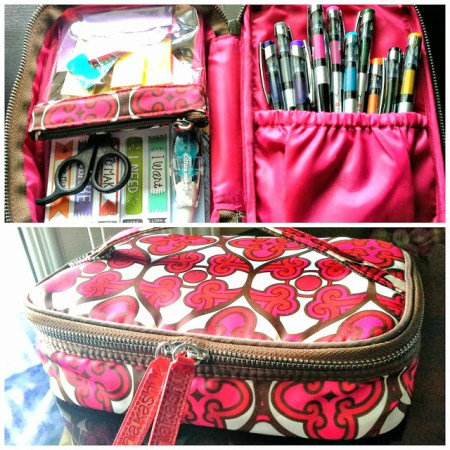 10-4 repurposed makeup travel cases, Simply In Control