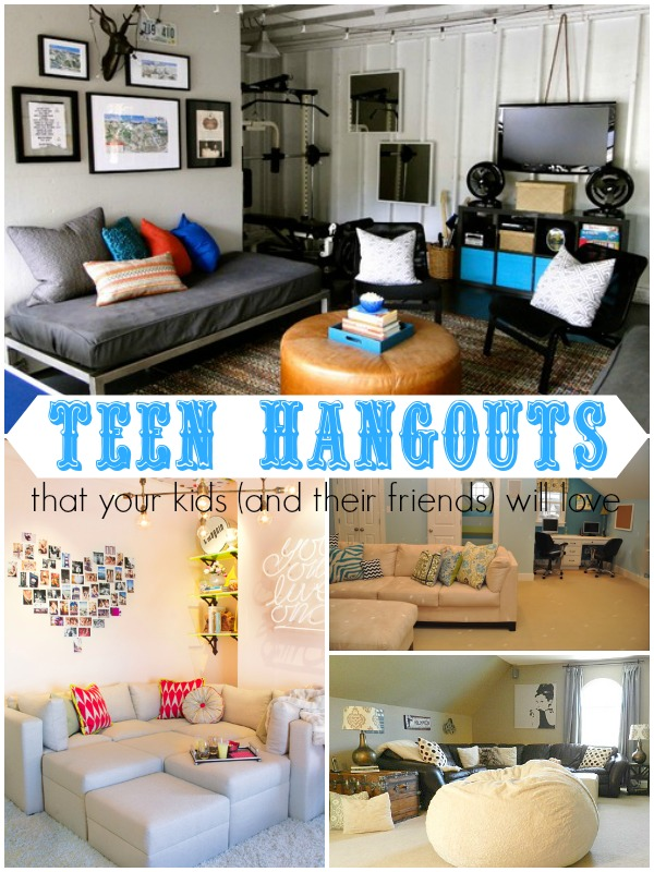 Peachy Remodelaholic Top Ten Teen Hangout Areas And Link Party Download Free Architecture Designs Scobabritishbridgeorg