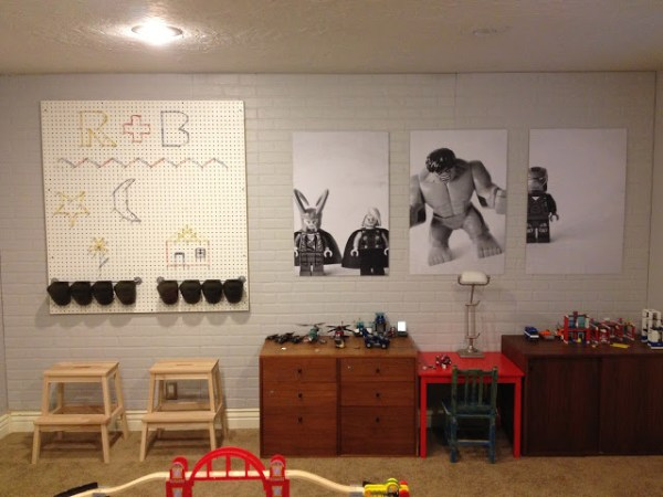 Big Boy Playroom I Am Momma Hear Me Roar Via Remodelaholic