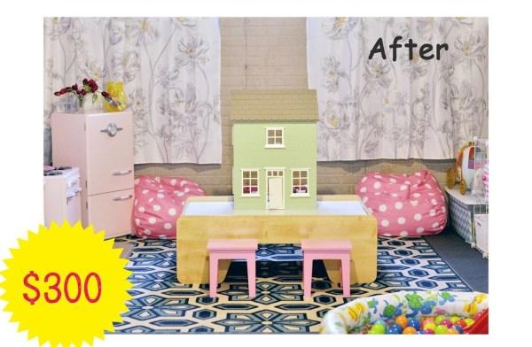 Budget Basement Playroom For Kids Play Learn Love Via Remodelaholic