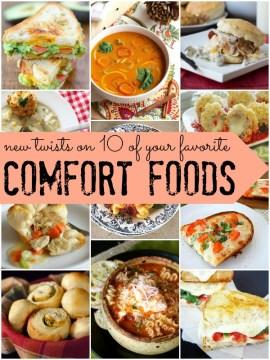 new twists on traditional comfort foods via Remodelaholic.com
