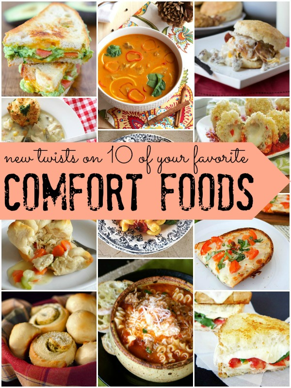 10 Classic Comfort Foods -- With a Twist! at Remodelaholic.com #recipe #comfortfood #fall @Remodelaholic