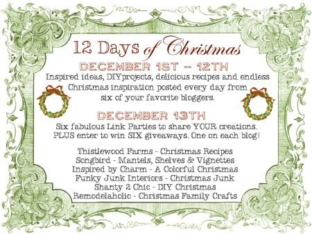 12 Days of Christmas #12days72ideas