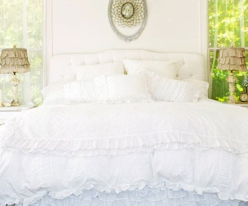 Get This Look: Dreamy White Bedroom