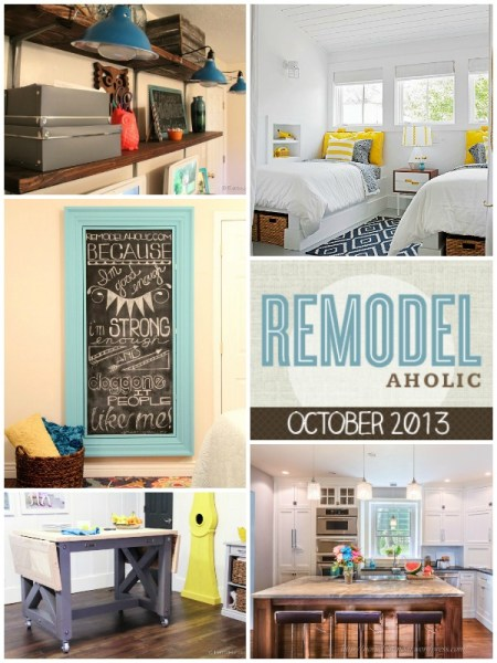 Remodelaholic in Review, October 2013 #remodel #diy #inspiration @Remodelaholic