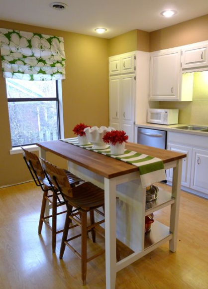 remodelaholic budget friendly board and batten kitchen island makeover