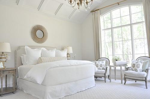 simple gorgeous white bedroom, Hibner Family