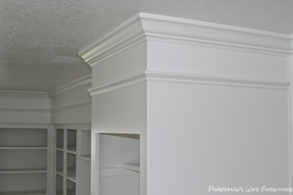white painted kitchen cabinets, Fisherman's Wife Furniture featured on Remodelaholic.com