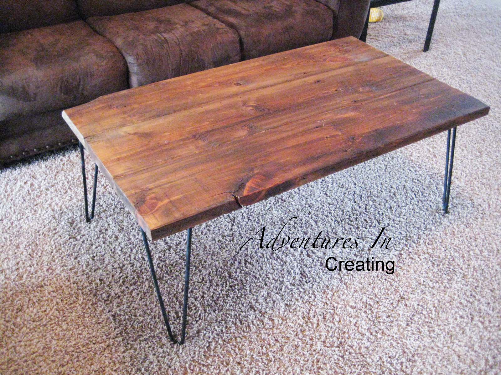modern coffee table and matching end tables