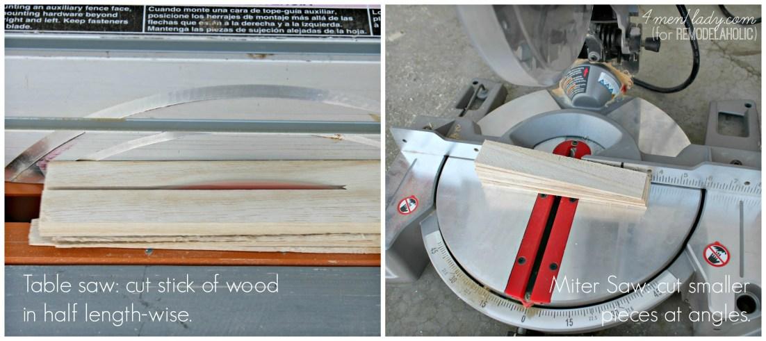 4men1lady saws  | 4men1lady for Remodelaholic.com