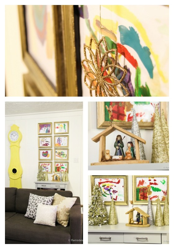 Kid art Gallery Display Ideas