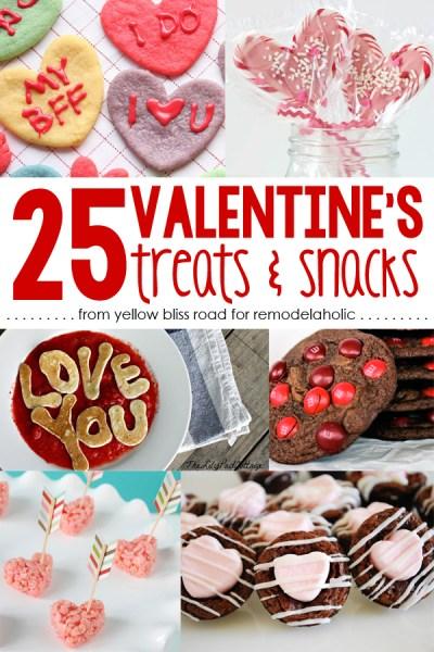 Valentines Treat Round Up
