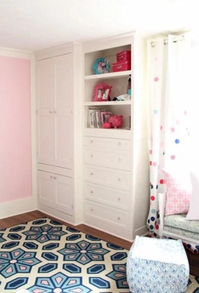 built-in wardrobe closet, Remodelaholic