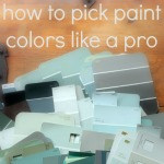 how to pick paint colors from thespacebetweenblog.net